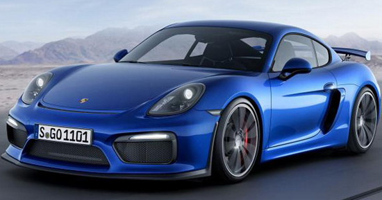 Porsche Cayman GT4 Has Arrived