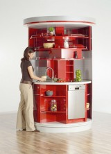 Smart Circular Kitchen With Everything You Could Ever Need