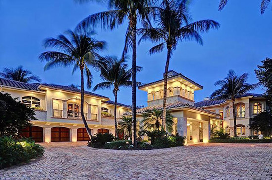 $15 Million Tropical Oasis In Florida