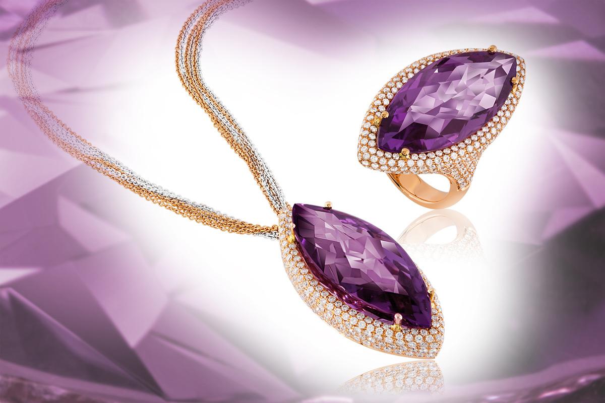 Violet Vision & Violet Vulcano by Select Jewels