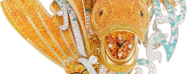 Van Cleef and Arpels Koï Watch Bracelet