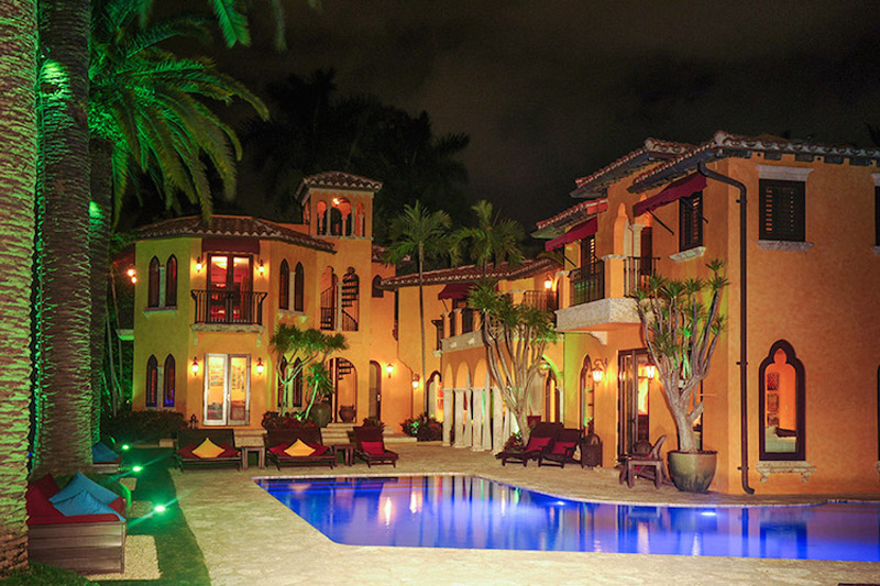 Villa Jasmine- Luxury Waterfront Miami Beach Mansion on Sale
