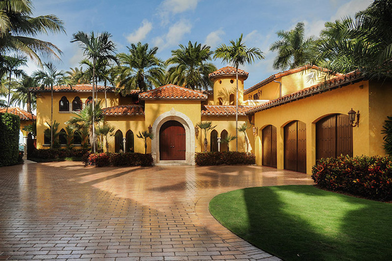 Villa Jasmine Luxury Waterfront Miami Beach Mansion On