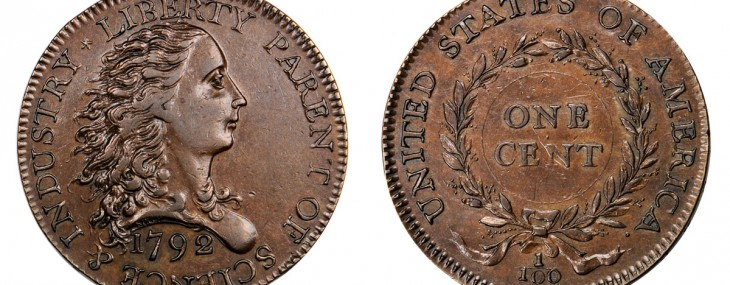 Rare 1792 Birch Cent Leading at Baltimore Auction