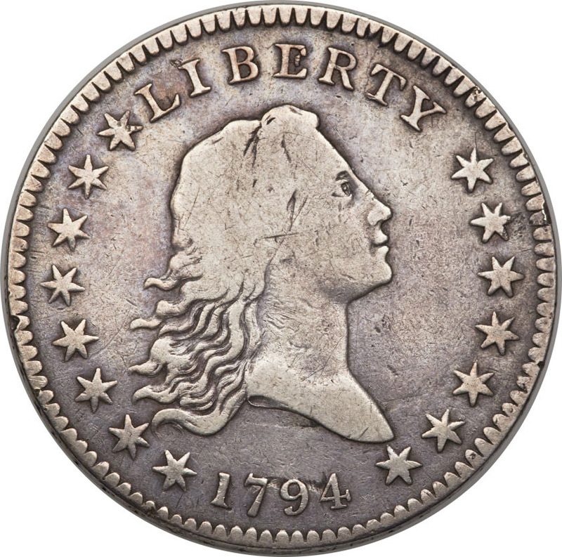 1794 O-109 Half Dollar Debuts at Heritage Auctions