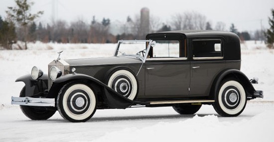 1933 Rolls-Royce Phantom II Continental Town Car by Brewster at auction