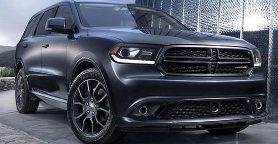 2015 Dodge Durango R/T With Radar Red Leather