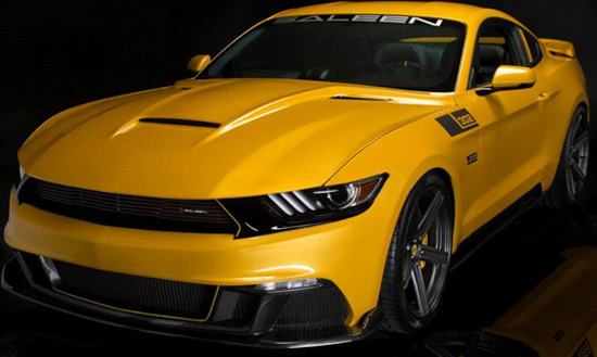 new S302 Mustang Black Label by Saleen