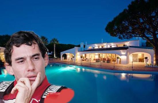 Ayrton Senna's Luxury Villa in Portugal on Sale