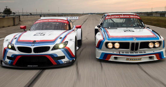 BMW Presented Special Z4 GTLM Model