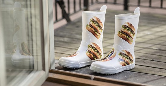 McDonald's new ''Big Mac'' Fashion Line