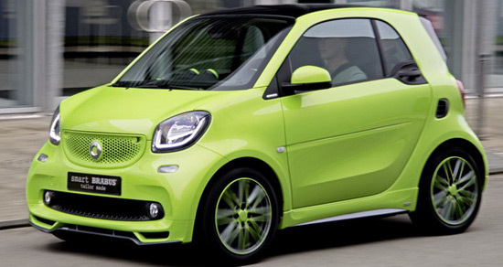 brabus smart fortwo tailor made special edition extravaganzi. Black Bedroom Furniture Sets. Home Design Ideas
