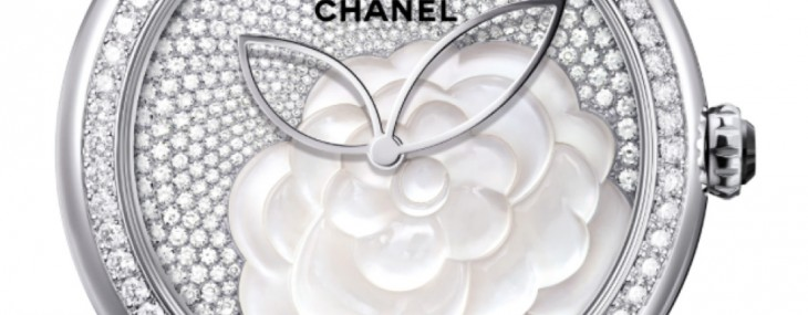 Chanel Unveiled Mother-of-pearl Camellia Watch