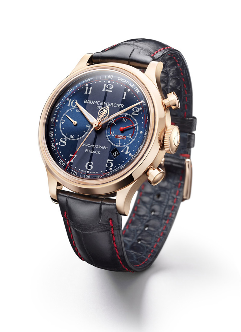 limited edition capeland shelby cobra watches by baume