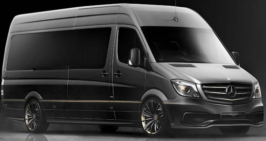 CARLEXIM Design, ended up with the project of modification of Mercedes Sprinter model