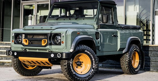 Chelsea Truck Company presents to us another of their modified Land Rover Defender