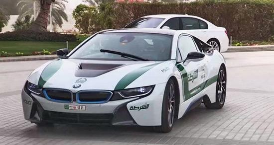 Dubai Police Adds Bmw I8 To Its Fleet Extravaganzi