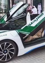 Dubai Police Adds BMW i8 To Its Fleet