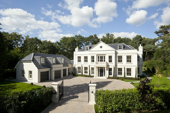 Newly Built English Mansion On Sale For 27 Million