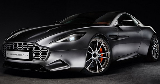 Henrik Fisker took care of modifying Aston Martin V12 Vanquish