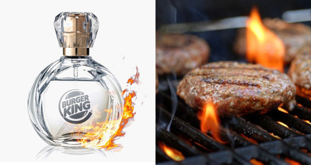 Burger King today announced that the perfume with the scent of their burger, Whopper