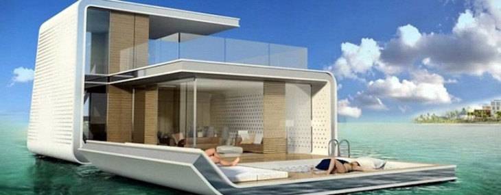Dubai to Get Super Luxury Floating Private Island Villas