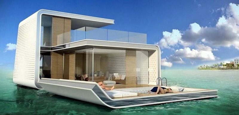 Dubai to get super luxury floating private island villas extravaganzi - The floating homes of dubai luxury redefined ...