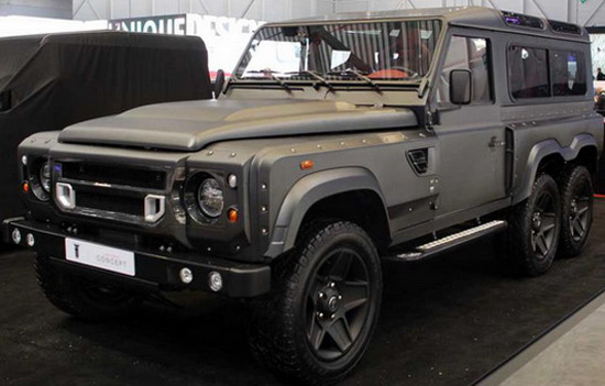 British Kahn Design presents its new concept car named Flying Huntsman WB 110 6x6 Concept