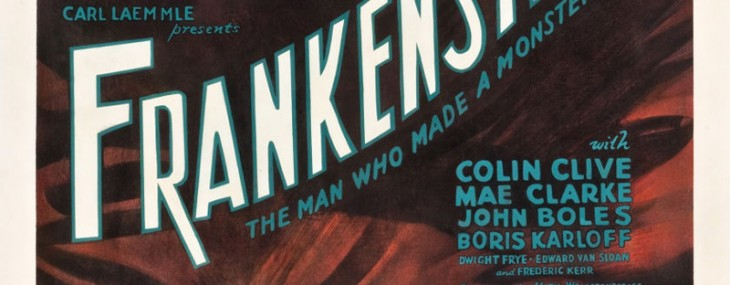 Monstrous Frankenstein Three Sheet Poster Could Fetch $100,000 at Heritage Auctions