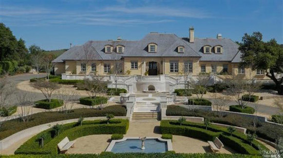 French country estate in santa rosa on sale for 8 5 for French country style homes for sale
