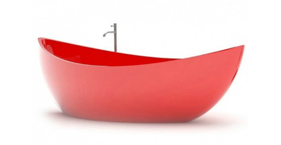 Funamori - Boat Shaped Bathtub by ZAD Design Studio