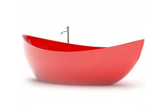 Funamori - Boat Shaped Bathtub by ZAD Design Studio