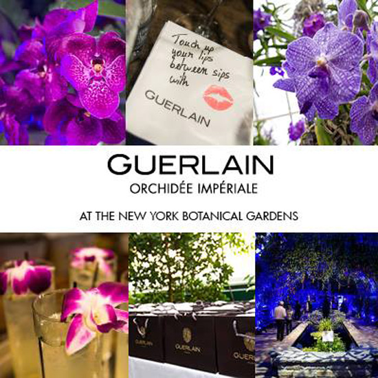 Experience Guerlain's Orchid Evenings at New York's Botanical Garden