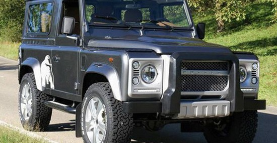 Hofele Design Defender Luxury Silver Bear Special Edition