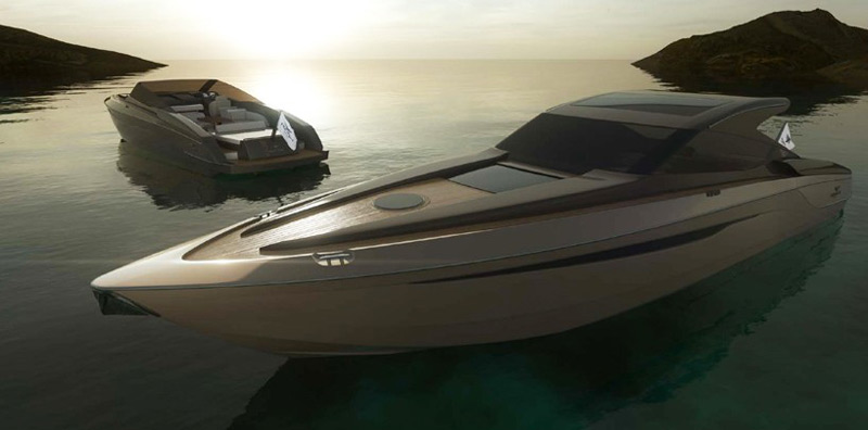 Hunton XRS52 - Luxury Powerboat