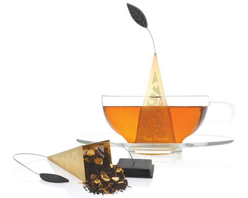 New ICON Au Gold Infuser by Tea Forte