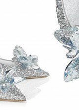 Jimmy Choo Cinderella Slipper with 7000 Crystals