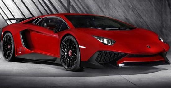 Lamborghini Aventador SuperVeloce Officially