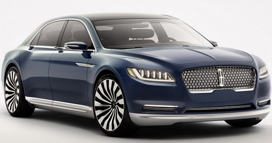 Lincoln Is Back With Its Continental Model