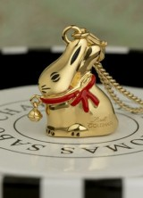 Lindt's Iconic Bunnies as 18 Carat Gold Plated Jewellery