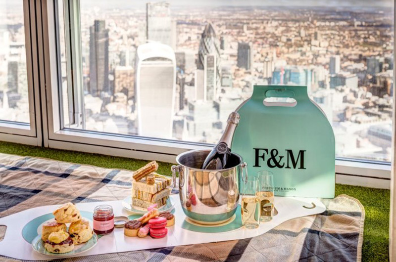 Sky-High Tea Experiences at London's View from The Shard