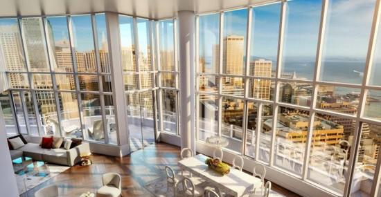 Lumina's $49 Million Penthouse Apartment - Sand Francisco's Most Expensive Listing