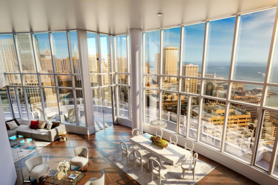 Lumina's $49 Million Penthouse Apartment - Sand Francisco's Most Expensive Listing