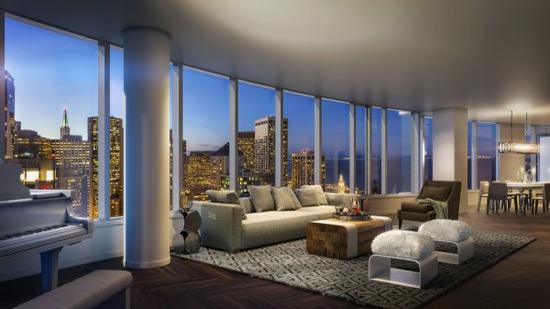 Lumina S 49 Million Penthouse Apartment Sand Francisco