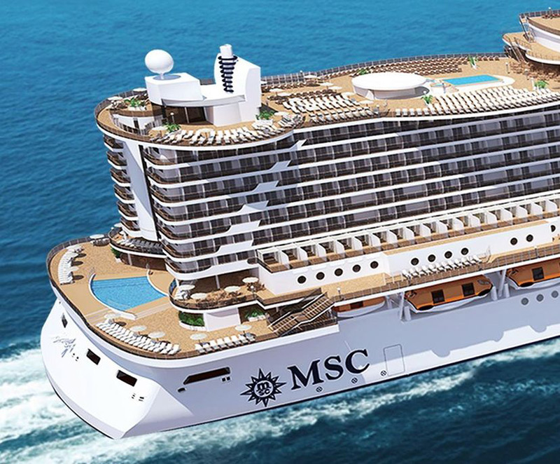 New MSC Seaside To Debut In November 2017 EXtravaganzi