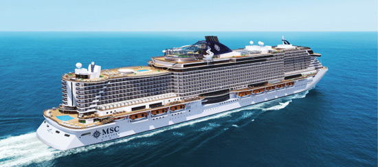 New MSC Seaside To Debut in November 2017