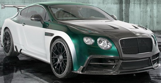 modified Bentley Continental GT, which now carries the name Mansory Bentley Continental GT Race