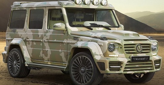 modified Mercedes G63 AMG, with the addition of Sahara Edition in its name