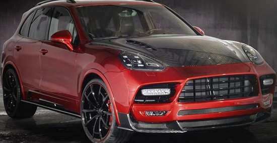 Mansory Porsche Cayenne Turbo With 800HP