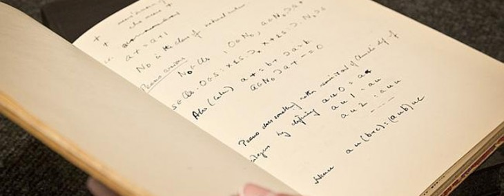 Handwritten Manuscript by Alan Turing Leading at Bonhams New York Auction